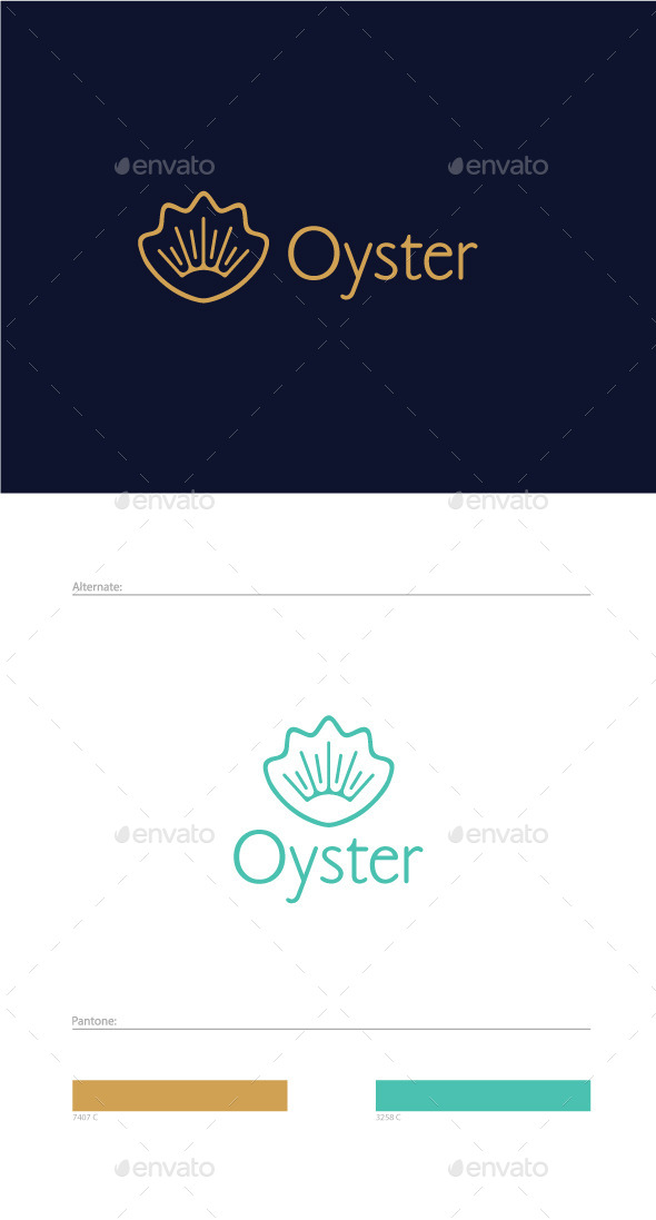 GraphicRiver Oyster Logo Template 9276671