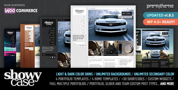 ShowyCase - Portfolio / Photography WP Theme - Portfolio Creative