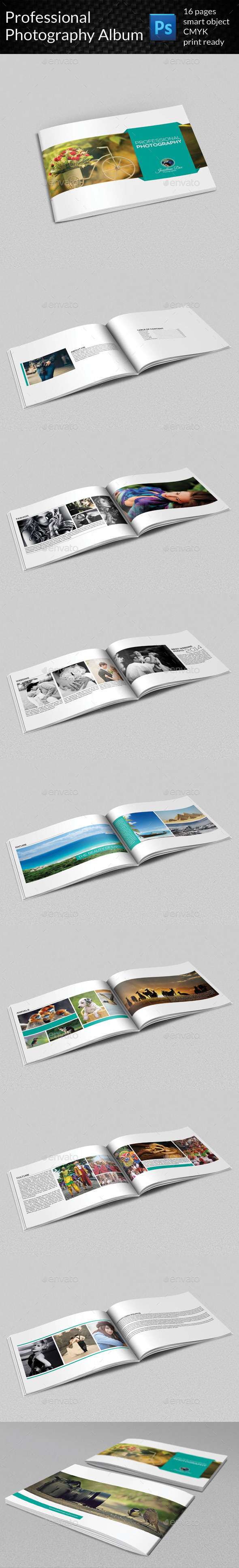 GraphicRiver Professional Photography Album 9276888