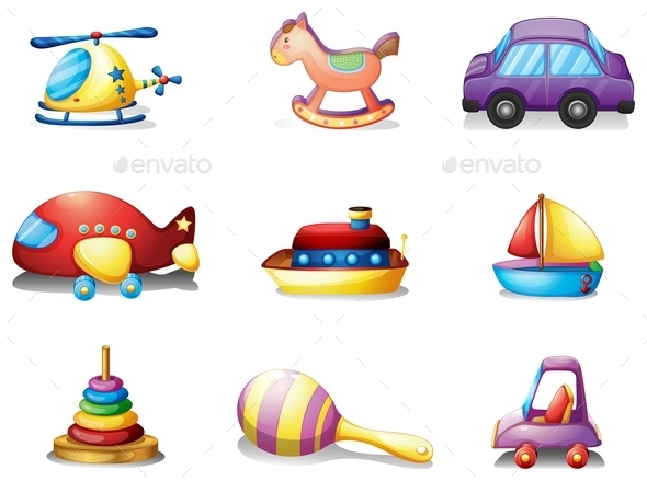 GraphicRiver Nine Toys 9276963