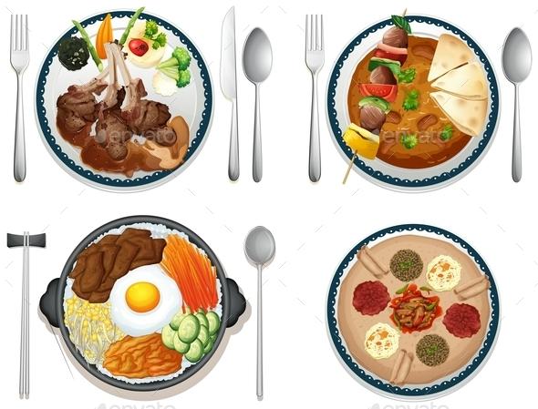 GraphicRiver International Food 9276968