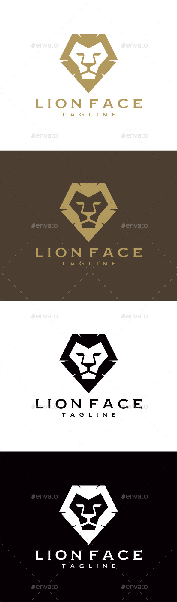 GraphicRiver Lion Face 9276978