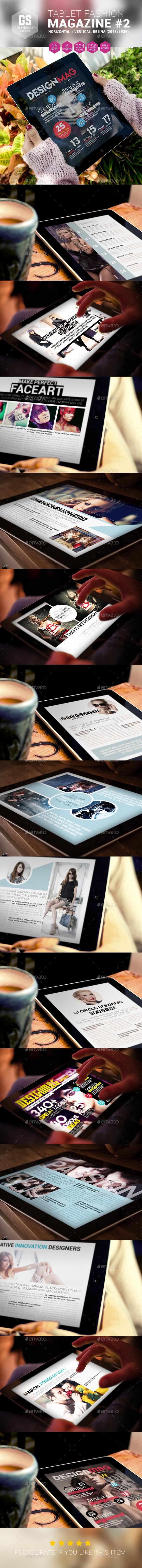 GraphicRiver Tablet Fashion Magazine 9277016