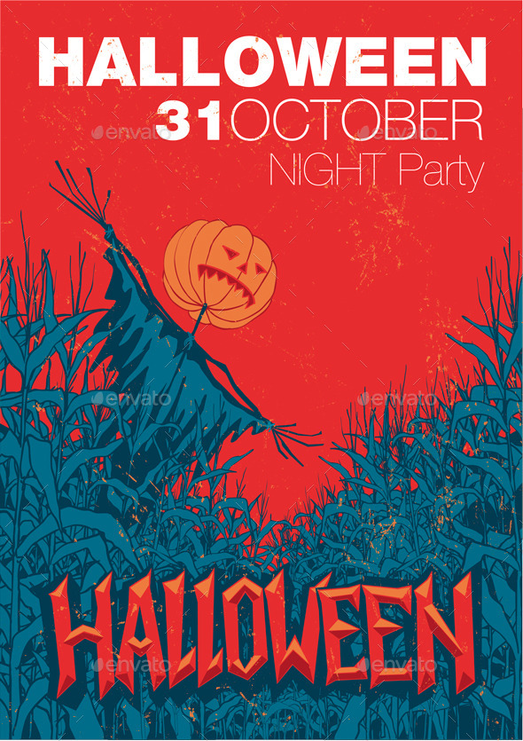 GraphicRiver Halloween Party 9277292