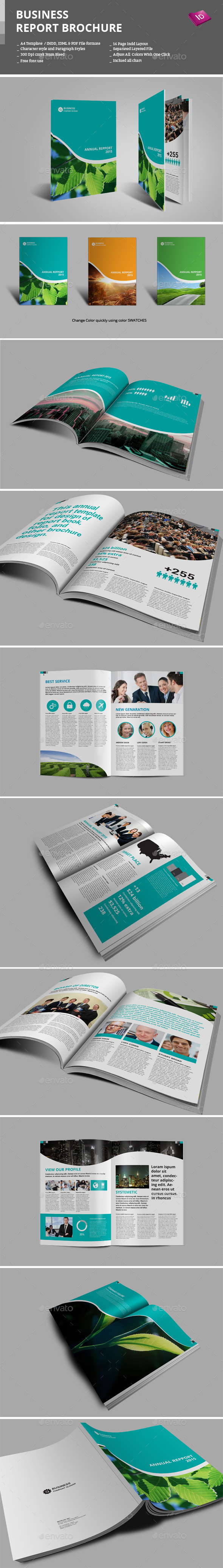 GraphicRiver Business Report Brochure 9277429