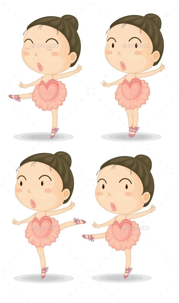 GraphicRiver Ballerinas 9277544