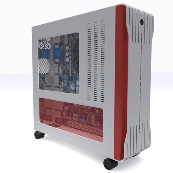 Modern Computer Case - 3DOcean Item for Sale
