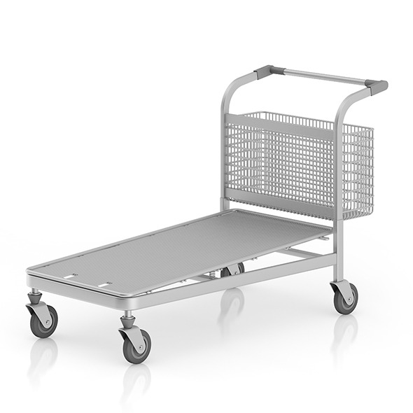Large Shopping Cart - 3DOcean Item for Sale