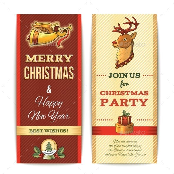 GraphicRiver Vertical Christmas Banner 9277694