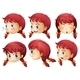 Girl Expressions - GraphicRiver Item for Sale