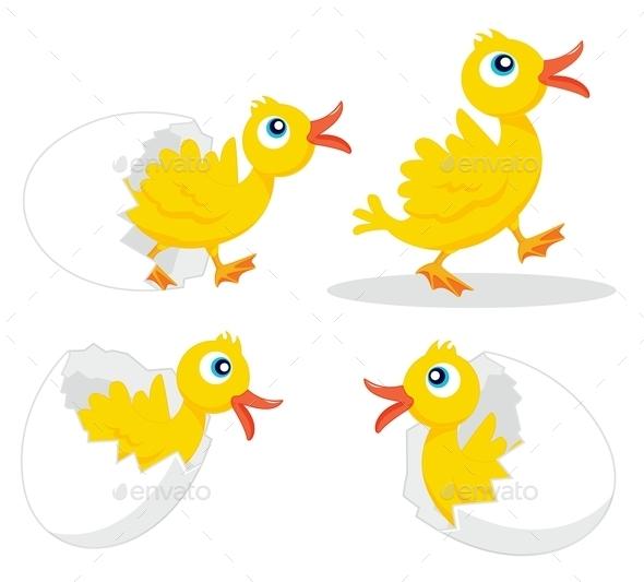 GraphicRiver Four Chicks 9277785