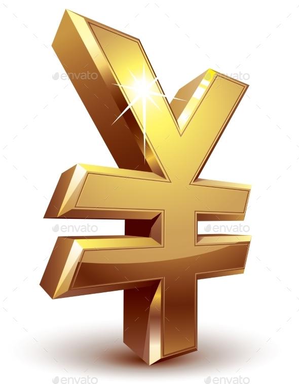 GraphicRiver Yen Symbol 9278070