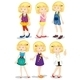 Young Blonde Girls - GraphicRiver Item for Sale