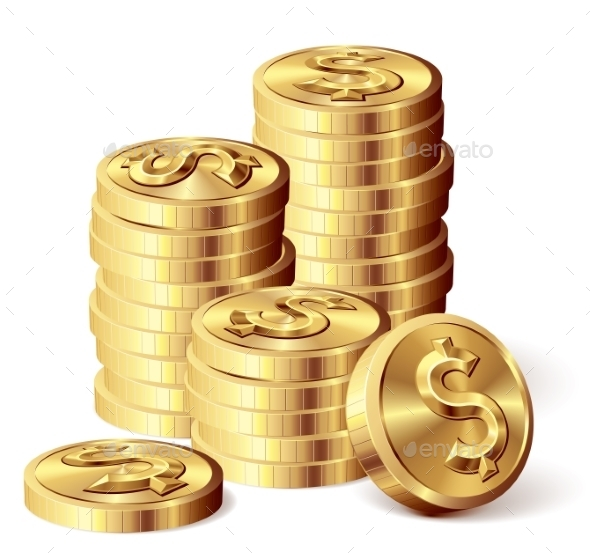 GraphicRiver Gold Coins 9278295
