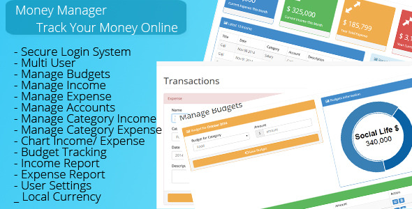 CodeCanyon Money Manager 9232124