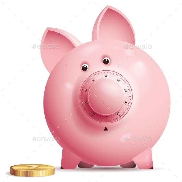 GraphicRiver Piggy Bank 9278834