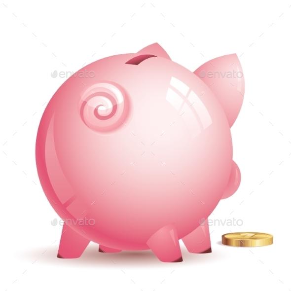 GraphicRiver Piggy Bank 9278847