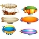 Set of Flying Objects - GraphicRiver Item for Sale