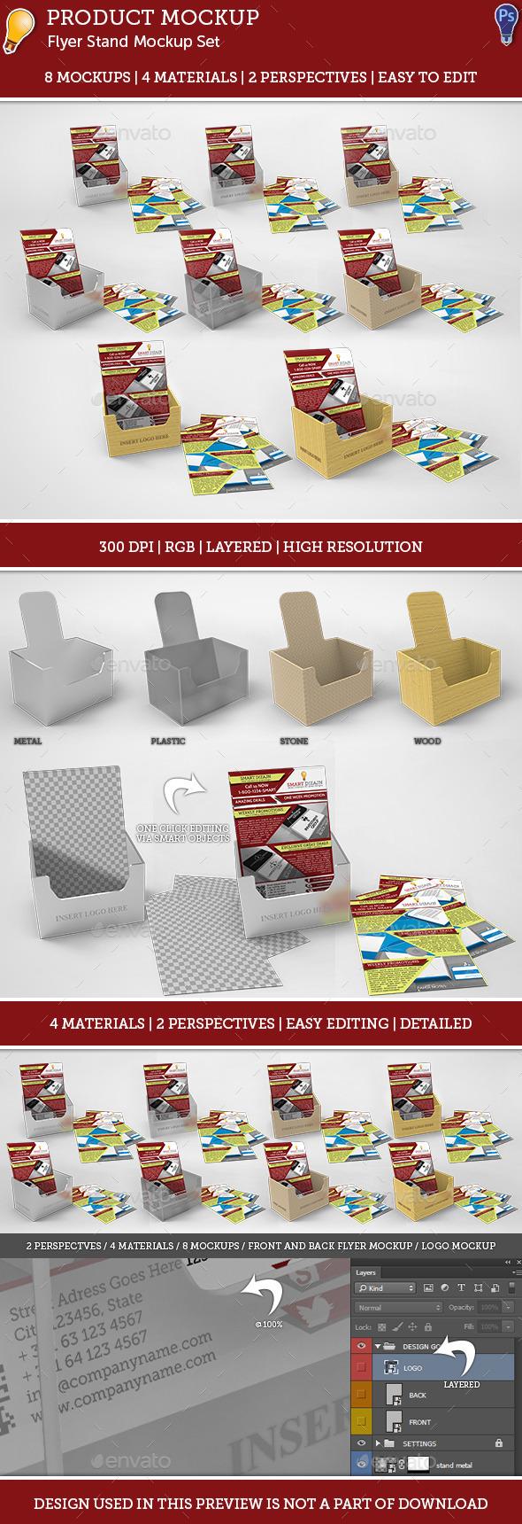 GraphicRiver Flyer Mockup Set 9278995