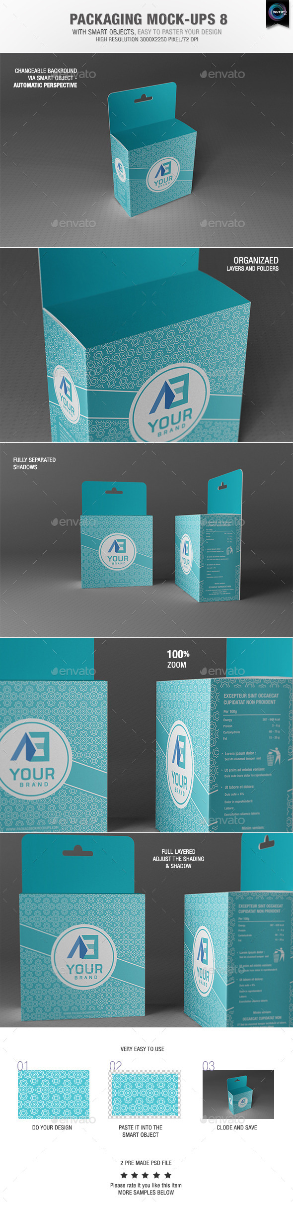 GraphicRiver Packaging Mock-Ups 8 9279019