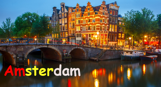 Amsterdam, Holland, Netherlands