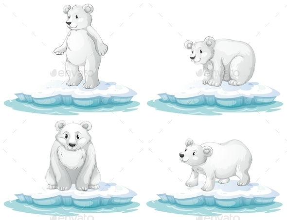 GraphicRiver Polar Bear 9279210