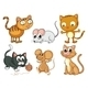 Cats and Mice - GraphicRiver Item for Sale