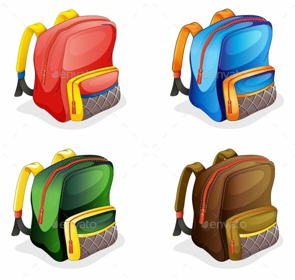 GraphicRiver School Bags 9279220