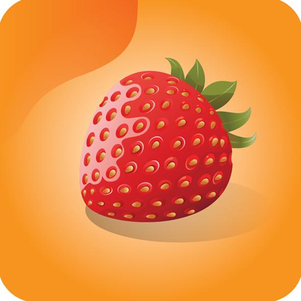 TutsPlus How to Create a Shiny Vector Strawberry 119315