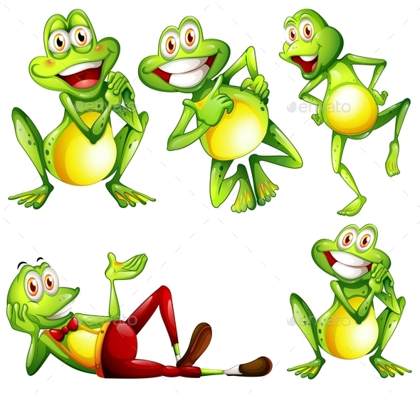 GraphicRiver Frogs 9279509