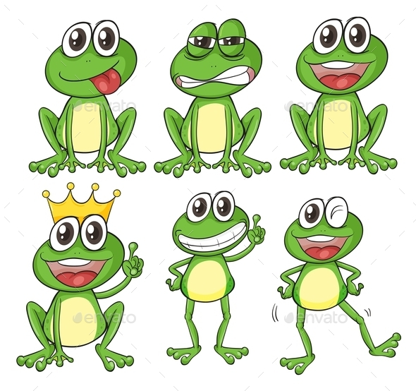 GraphicRiver Green Frogs 9279533