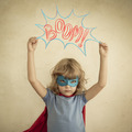 Superhero child - PhotoDune Item for Sale
