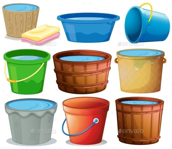 GraphicRiver Bucket Set 9279610