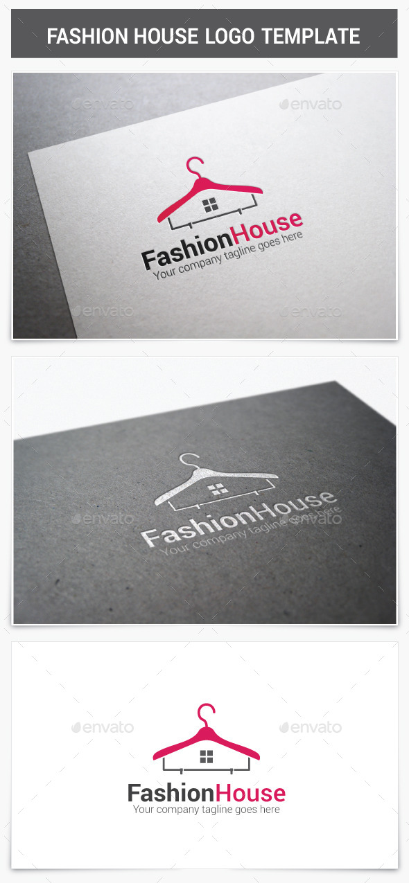 GraphicRiver Fashion House Logo 9279774