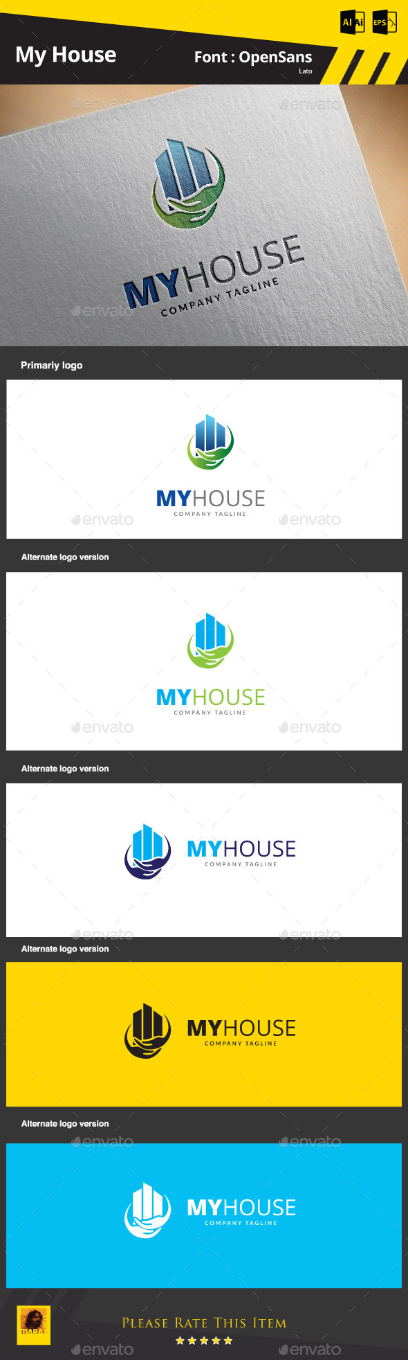 GraphicRiver My House 9261961