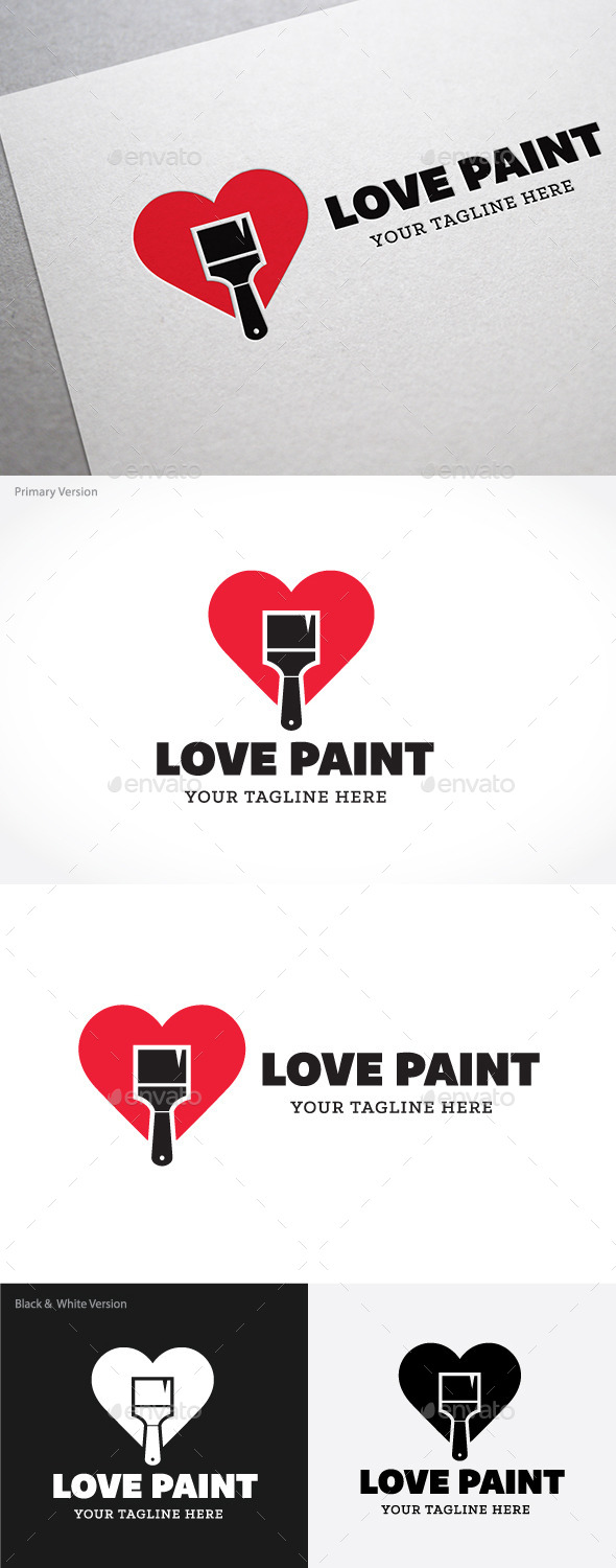 GraphicRiver Love Paint 9279889