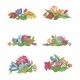 Set of Flower Vignettes - GraphicRiver Item for Sale