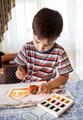 Little boy paints - PhotoDune Item for Sale