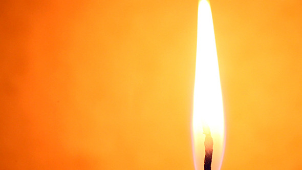 Candle Light With Flame 196