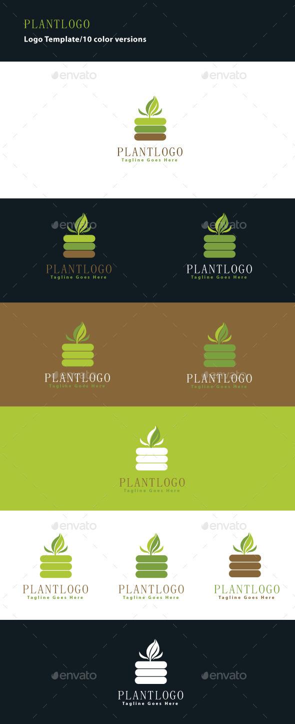 GraphicRiver Plant Logo 9280549