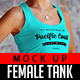 Female Tank Mock Up - GraphicRiver Item for Sale