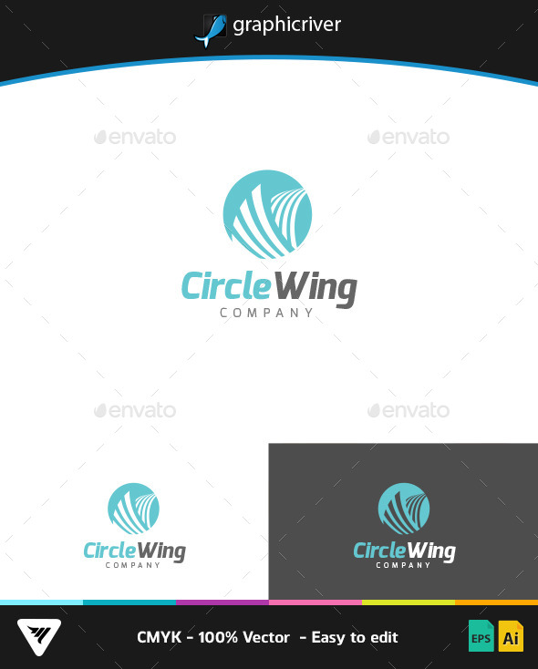 GraphicRiver Circle Wing Logo 9266962