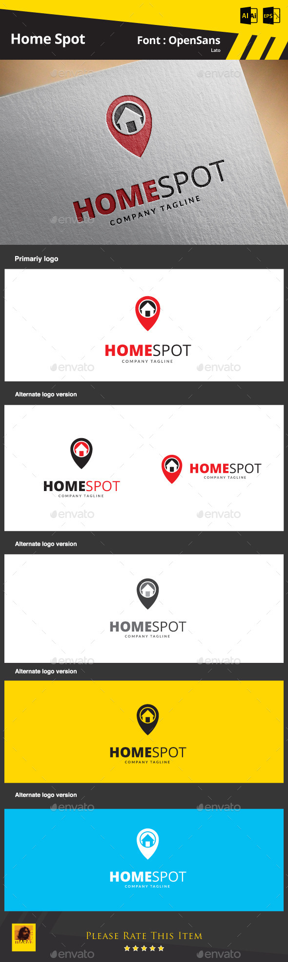 GraphicRiver Home Spot 9266735