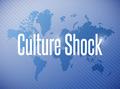 culture shock sign illustration design - PhotoDune Item for Sale