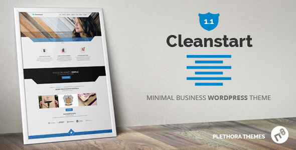 CLEANSTART Clean Multipurpose Business Theme  - Business Corporate