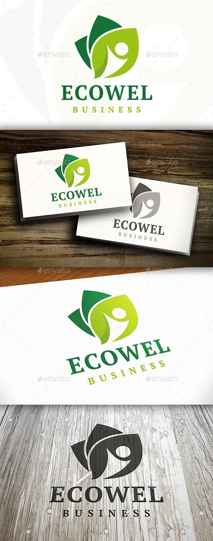 GraphicRiver Eco Wellness Logo 9280851