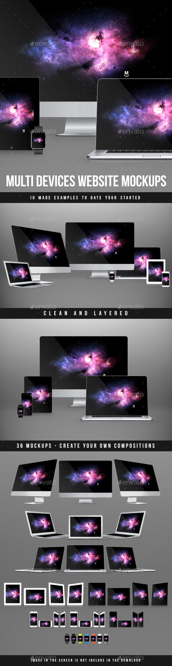 GraphicRiver Multi Devices Website Mockups 9281660