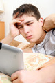 Annoyed Teenager with Tablet - PhotoDune Item for Sale