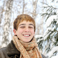 Happy Teenager in the Winter - PhotoDune Item for Sale