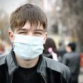 Teenager in Flu Mask - PhotoDune Item for Sale